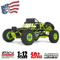 RC Cars 1/12 High Speed All Terrain Off-Road Crawler Climbing Buggy Best Gift