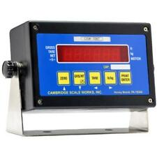 CAMBRIDGE  CSW-10AT Digital Weigh Scale Indicator NTEP  NEW