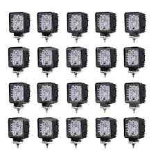 20pcs 27w Led Work Light Spot Beam for ATV JEEP SUV UTE Lamp Truck Boat 12v 24v