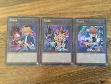 LDK2 ENT01 ENT02 ENT03 Token Cards Yugioh Legendary Decks II 2 Yugi Kaiba Joey