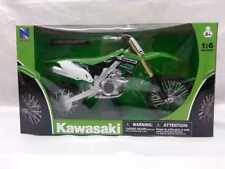 NEW RAY MODELLINO MOTOCROSS KAWASAKI KX 450 F SCALA 1:6 MODEL BIKE IDEA REGALO