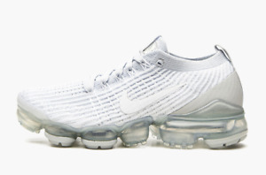 Nike Air Vapormax Flyknit 3 Pure Platinum White Sneakers