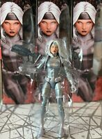 SILVER SABLE - from Marvel Legends Spider-Man Kingpin BAF Wave - SHIPS FAST!