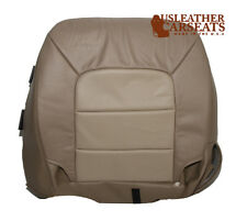2003 Ford Expedition Perforated Driver Bottom Leather Seat Cover 2 Tone Tan