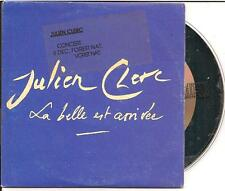 JULIEN CLERC - la belle est arrivee PROMO CD SINGLE 1TR CARDSLEEVE 1992 RARE!