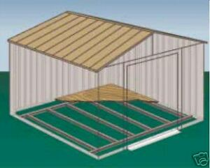 Bodenrahmen für Metall Gerätehäuser Modelle 86 u. 106