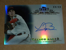 2013 Topps Tribute Trevor Bauer On Card Auto 4/50 Cleveland Indians Diamondbacks