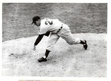 1955  Baseball Wire Photo, Herb Score, Cleveland Indians ~ Major League Debut!