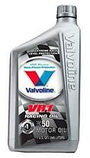 Valvoline 235 VR1 50W Conventional Racing Oil - High Zinc - Case of 6 Quarts