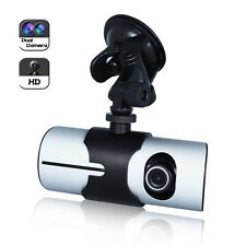 "New 2.7"" Vehicle 1080P Car DVR Camera Video Recorder Dash  G-Sensor GPS Dual Len"
