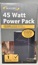 Malibu 45 Watt Power Pack with Sensor for Low Voltage Landscape Light 12V Output