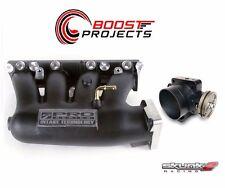 SKUNK2 Intake Manifold Pro Black+ Throttle Body 74mm 02-06 Acura RSX K20A2/K20Z1