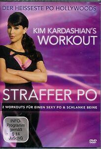 DVD KIM KARDASHIAN'S WORKOUT - Straffer Po & schlanke Beine Neu
