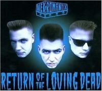 NEKROMANTIX 'RETURN OF THE LOVING DEAD' CD NEW+!!!
