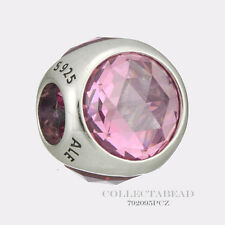 Authentic Pandora Silver Pink CZ Radiant Droplet Bead 792095PCZ *SPECIAL!!!*