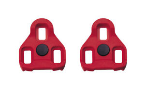 Exustar E-ARC10 Cleats for Look Keo & Exustar EPS-R Pedals - Red - Float
