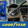 Goodyear Heavy Duty Steering Wheel Lock With Emergency Glass Breaker and 2 Keys