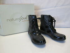 Natural Soul Naturalizer Ravine all Thru Comfort Black Zip Ankle Boots 6.5 $90