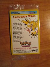 Sealed ARTICUNO Pokemon PROMO Card #22 Rare Black Star Set Legendary Ice Bird