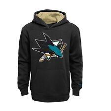 San Jose Sharks YOUTH BOYS Sweatshirt Logo Pullover Hoody by Reebok