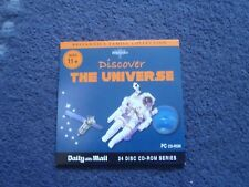 Promotional PC CD Rom Britannica Discover the Universe