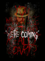Bray Wyatt Were Coming Poster Print Wrestling Print 8x10 Hologram & Numbered