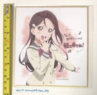 C97 LOVE LIVE SUNSHINE WATANABE YOU TSUKI MANGA BOOK AQOURS ANIME IDOL