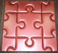 Puzzl Plastic Molds for 3 D Panels  Plaster wall stone Form 3D decor wall panels