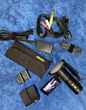 Sony HDR-CX580V High Def. Handycam Camcorder W/Many Accessories C Description.