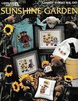 Sunshine Garden Charted Cross Stitch | Leisure Arts 2600