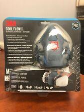 New Listing3m Advanced Comfort Cool Flow Respirator Size Medium