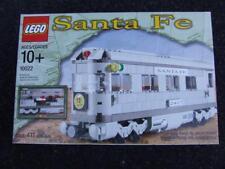 * New * Lego 10022 Santa Fe Train Car ( 3 in one Models )  Sealed Box Rare Set