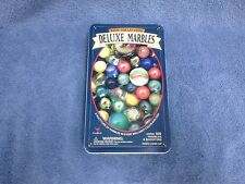 Cardinal Kids Collection Deluxe Marbles Set in Tin NEW