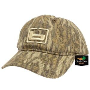 "NEW BANDED GEAR HUNTING CAP HAT BOTTOMLAND CAMO W/ ""b"" LOGO ADJUSTABLE"