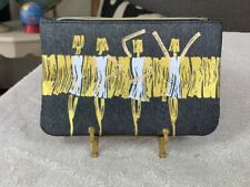 Graphic IPSY MAKE-UP Bag - Zippered Cosmetic Bag