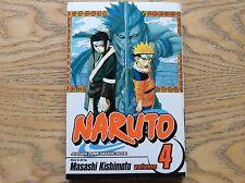 Naruto Vol 4 Manga Graphic Novel! Look At My Other Graphic Novels!
