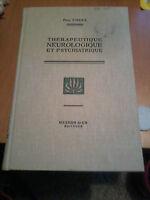 Paul COSSA - THERAPEUTIQUE NEUROLOGIQUE ET PSYCHIATRIQUE - 2e édition