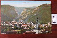 Postkarte Ansichtskarte Niedersachsen Lithografie Thale  am Harz