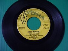 THE Miracles Early Smokey Robinson  Rare 45, SHOP AROUND   1960 TAMLA