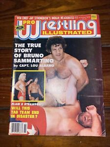 Pro Wrestling Illustrated PWI November 1979 Bruno Sammartino