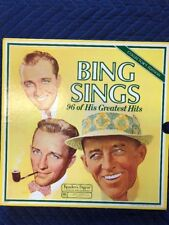 Bing Sings,96 of His Greatest Hits,Reader's Digest,Collectors Edition, 8 Records