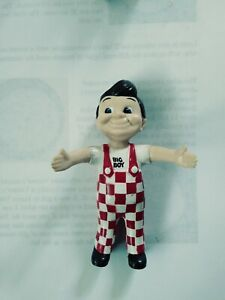 Vintage Big Boy Figure 1996 Elias Brothers Restaurant Bendy Bendable Toy