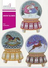 Snow Globes Anita Goodesign Embroidery Machine Design CD 53AGHD
