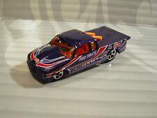 2004 Hot Wheels ''course Finale'' #135 Semi-fast Violet 0714c