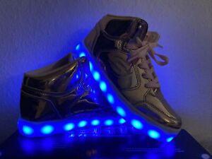 Skechers Energy Lights 35 rosegold *wie NEU!*