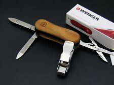 Schweizer Taschenmesser WENGER NailClip WOOD (Victorinox), swiss army knife