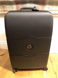 """DELSEY Black 28""""Chatelet Hard SUITCASE ! New! Only"""