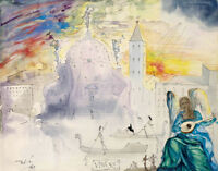 Salvador Dali  VENICE  canvas print giclee 8X12&12X17 poster art reproduction