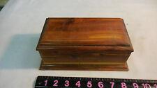 Rustic Cedar Box --ONE CHIPPED CORNER