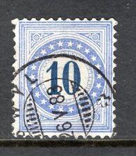 Switzerland - 1882 Postage Due -  Mi. 10 K VFU (I)